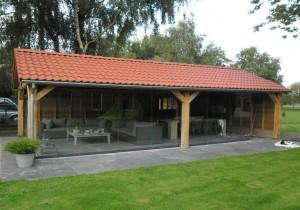 Wel of geen tuinhuisje met terrasoverkapping?