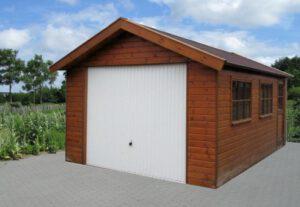 houten garage kopen